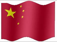 Animated China flag PRC flag Country flag of abFlags