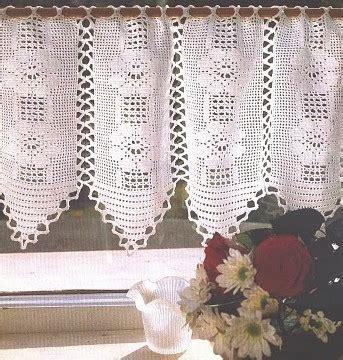 rideaux en crochet patron mod 232 le gratuit rideau crochet