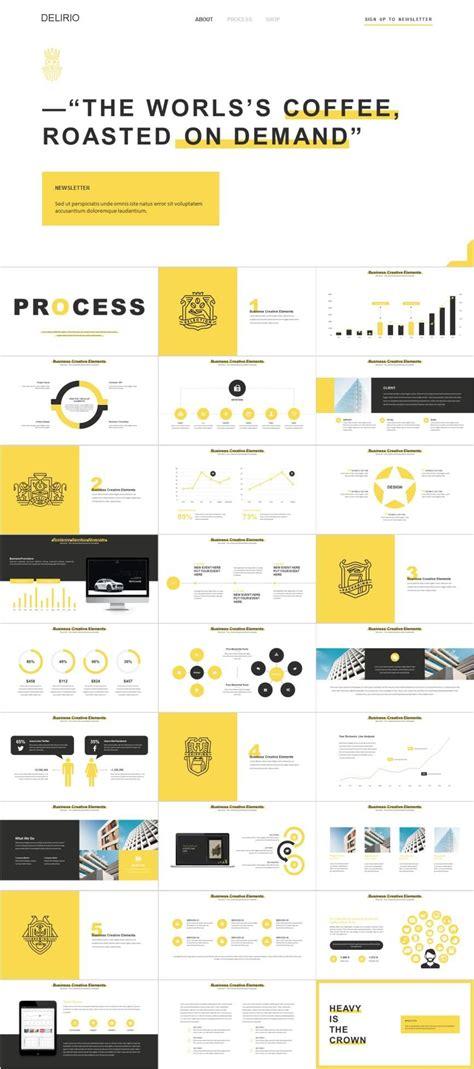 yellow website analysis powerpoint template pcslidecom
