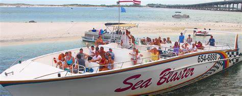 Destin Boat Tours by Destin S Original Sea Blaster Dolphin Tours Destin S