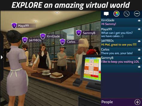 chat virtual avakin games 3d avatars friends