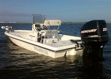 shearwater boats  bay boat excellent condition