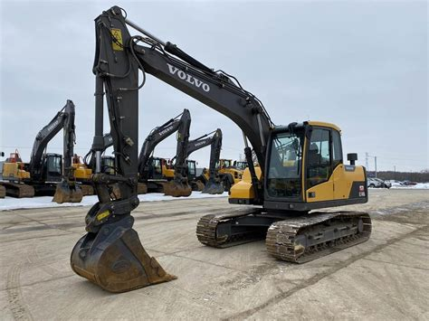 volvo ecdl crawler excavators construction