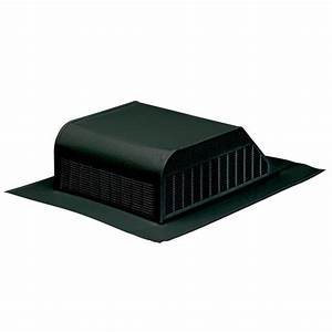 Shop air vent black aluminum slant back roof louver at for Cupola ventilation