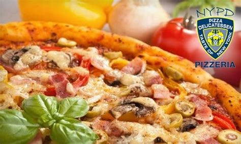 72566 Nypd Pizza Coupons by 50 At Nypd Pizza Nypd Pizza Groupon