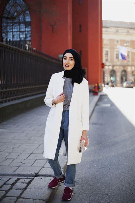 popular hijab street style fashion ideas  season
