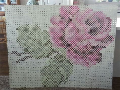S Ching On Pegboard Step By Step Nuts About Needlepoint