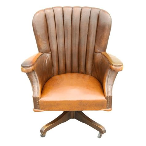 vintage leather office chair study home office