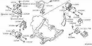 Nissan Altima Engine Mount  Rear   Transmission  Mounting
