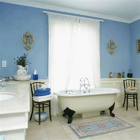 Blue And White Bathroom Ideas by Remodel Your Blue Bathroom With New Accessories Messagenote
