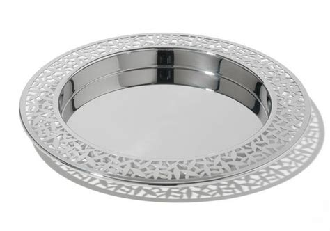 Cactus Round Tray With Pierced Edge By Marta