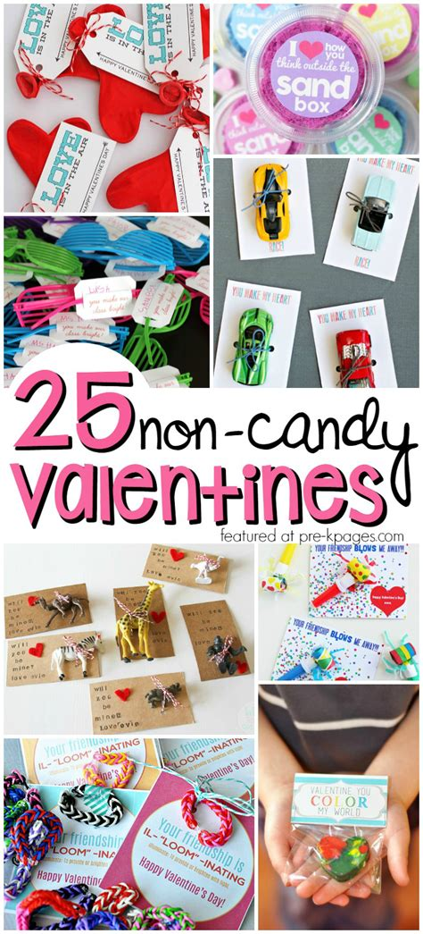 non valentines for pre k pages 726   Non Candy Valentines for Kids