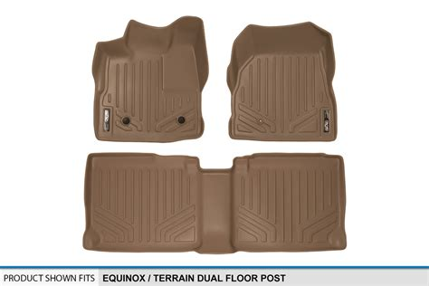 Chevy Equinox Floor Mats 2016 by 2012 2016 Chevy Equinox Gmc Terrain Floor Mats 1st 2nd