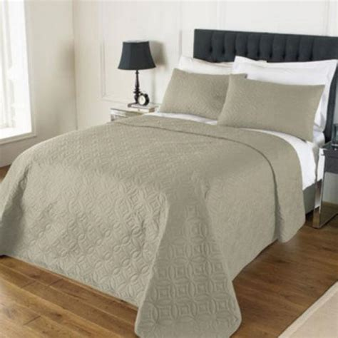 king size pillow shams embossed bedspread and 2 pillow shams king size