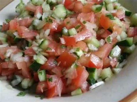 cuisine tunisienne facile recette salade tunisienne facile