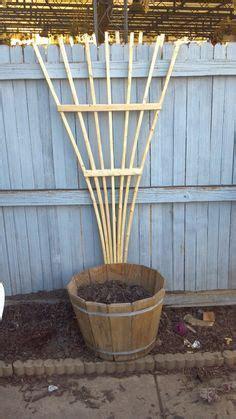 making  fan trellis diy outdoor projects garden