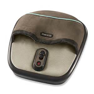 buy homedics 174 shiatsu air foot massager from bed bath