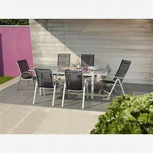 Gartentisch Aluminium Ausziehbar : gartentisch meike glas aluminium ausziehbar von toom f r ~ Lateststills.com Haus und Dekorationen