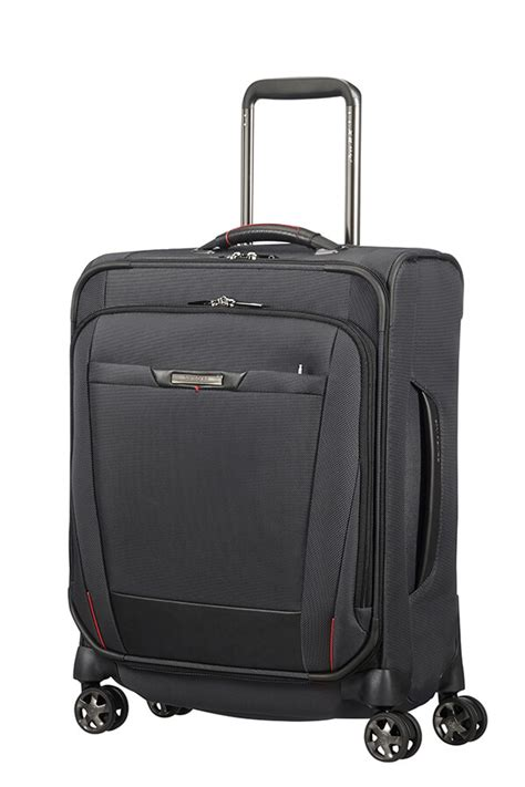 "Samsonite Pro Dlx 5 Spinner (4 wheels) 55cm 15 6"" Black"