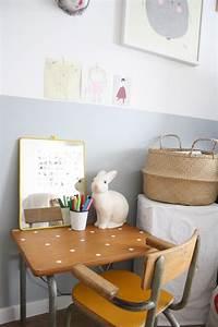 Bureau écolier Vintage : objets et mobilier vintages dans une chambre d 39 enfant picslovin ~ Nature-et-papiers.com Idées de Décoration