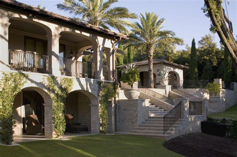 spanish colonial style luxury mansion   heart
