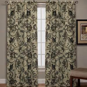 jacobean floral curtains polyvore