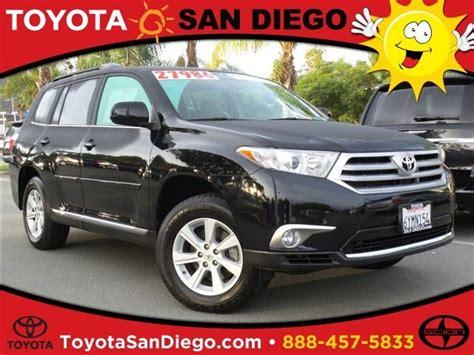 Toyota Of San Diego by 2014 Toyota Highlander For Sale In San Diego Ca Cargurus