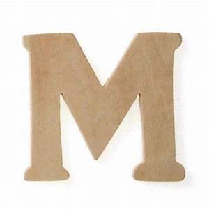 2 1 2quot x 3quot x 5mm natural unfinished wood craft letter m for 2 inch wooden letters for crafts