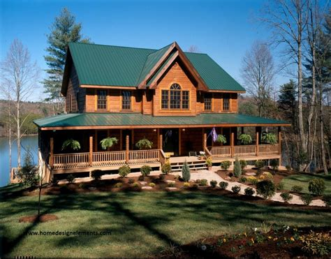 log home traditional exterior other metro by home