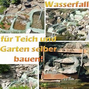 Wasserfall Garten Bauen Anleitung : wasserfall f r teich und garten selber bauen mit bauanleitung teichfilter ~ A.2002-acura-tl-radio.info Haus und Dekorationen