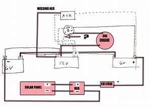 How To Hook Up Solar Panel To This Wiring Diagram - The Hull Truth