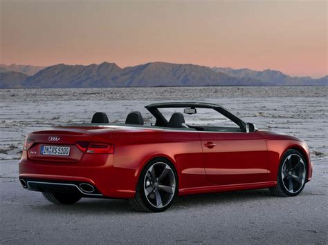 convertible audi red audi rs5 convertible red wallpaper