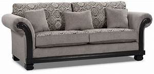 hazel chenille sofa grey united furniture warehouse With grey chenille sectional sofa