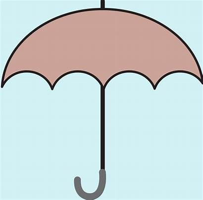 Umbrella Clipart Animation Modified Animated Brown Openclipart