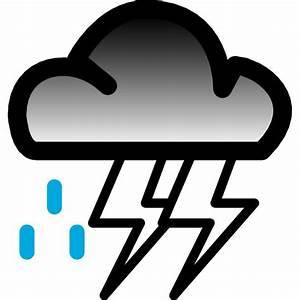 HEAVY RAIN WEATHER VECTOR SYMBOL - Download at Vectorportal