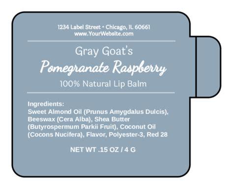 lip balm label templates  lip balm label designs