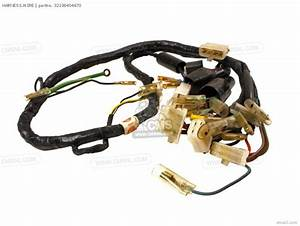 Honda Cb550 Four Cb550k3 1977 Usa Wire Harness    Horn    Ignition Coil