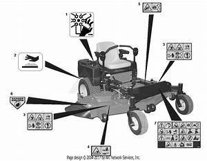 Gravely 991082  020000 - 029999  Zt 48 Hd  Kawasaki  48 U0026quot  Deck Parts Diagram For Decals