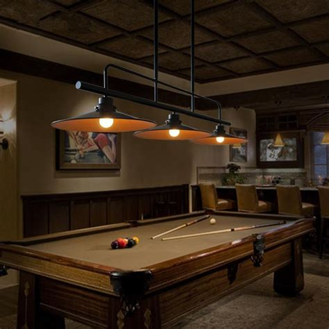 25 best ideas about pool table lighting on