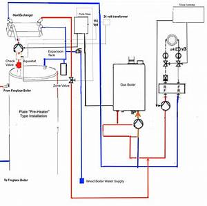 Wiring Plan For Fireplace Boiler