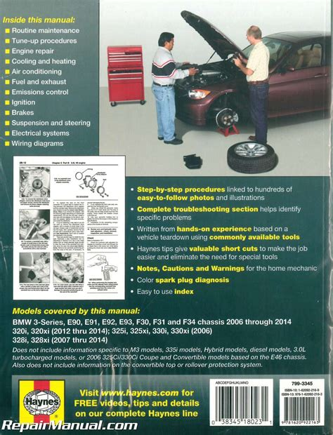 best car repair manuals 2006 bmw 325 on board diagnostic system bmw 3 series 2006 2014 automotive service repair manual