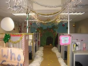 The Ivesons Christmas fice Decorating Contest
