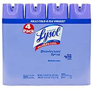 Amazon.com: 6 Wholesale Lots Lysol Disinfectant Spray