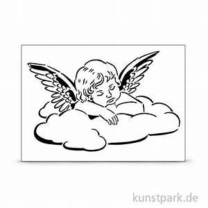 Engel Auf Wolke Schlafend : viva decor universal schablone a4 engel auf wolke ~ Bigdaddyawards.com Haus und Dekorationen
