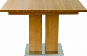 Table Bois Rectangulaire : table rectangulaire design bois massif a rallonge md1 160 ~ Teatrodelosmanantiales.com Idées de Décoration