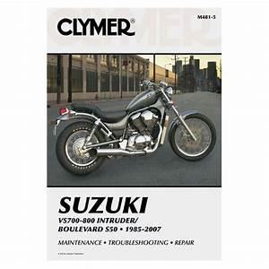 Clymer Manual Suzuki Vs700    Vs750    Vs800    Boulevard S50