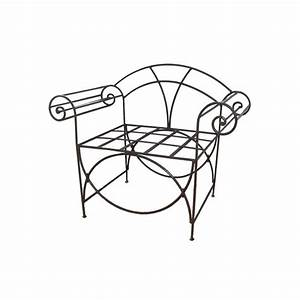 Fauteuil Fer Forgé : fauteuil romain en fer forg ~ Melissatoandfro.com Idées de Décoration