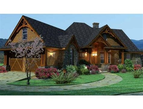 house plans ranch style  basement front view  house plans ideas pinterest
