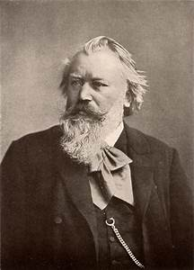 Johannes Brahms (1833 1897) was a composer of the Romantic