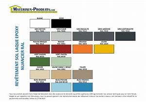 Melange De Couleur Pour Obtenir Du Beige : peinture de sol laque epoxy pour beton 19 couleurs ~ Dailycaller-alerts.com Idées de Décoration